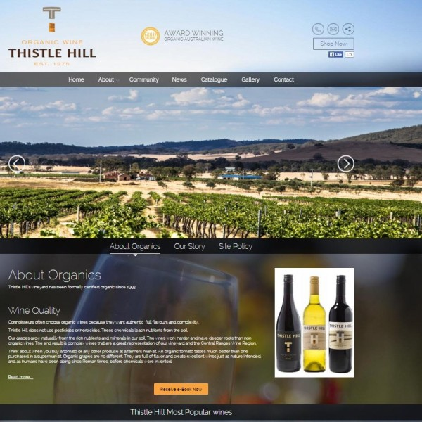 Thistle Hill Winery Australia