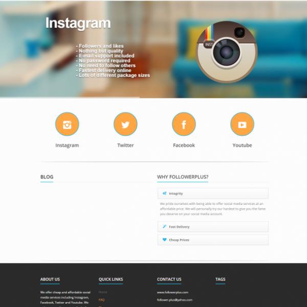 Follower Plus – Online Social Media Promotion Services