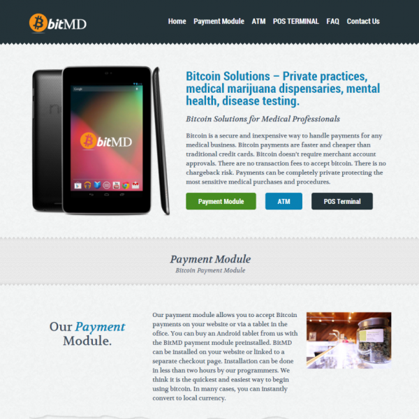 bitMD – Payment Solutions for Medical Business