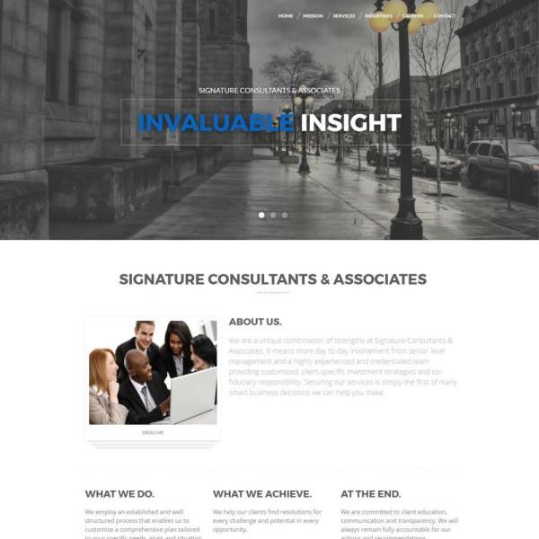 Creative Responsive Professional Website