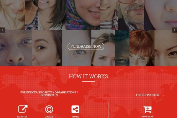 Creative Web Portal for TMA Fundraising Australia